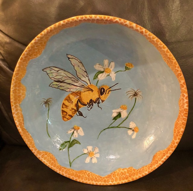 Bowl #3 Bee by Angie Kline