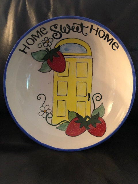 Bowl #6 Home Sweet Home By LMPC