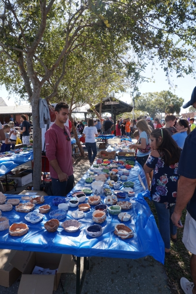 """Lots of """"Empty Bowls"""" to choose from..."""