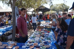 "Lots of ""Empty Bowls"" to choose from..."